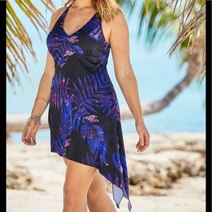 Swimsuits For All NWT Multi-Style Swimdress, 32